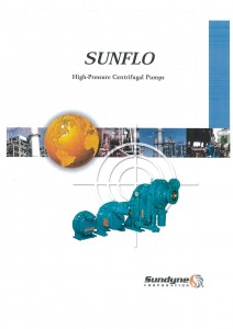 Sunflo High Pressure Centrifugal Pumps